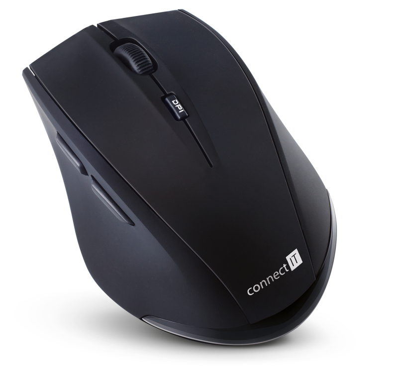 Wireless laser mouse with case