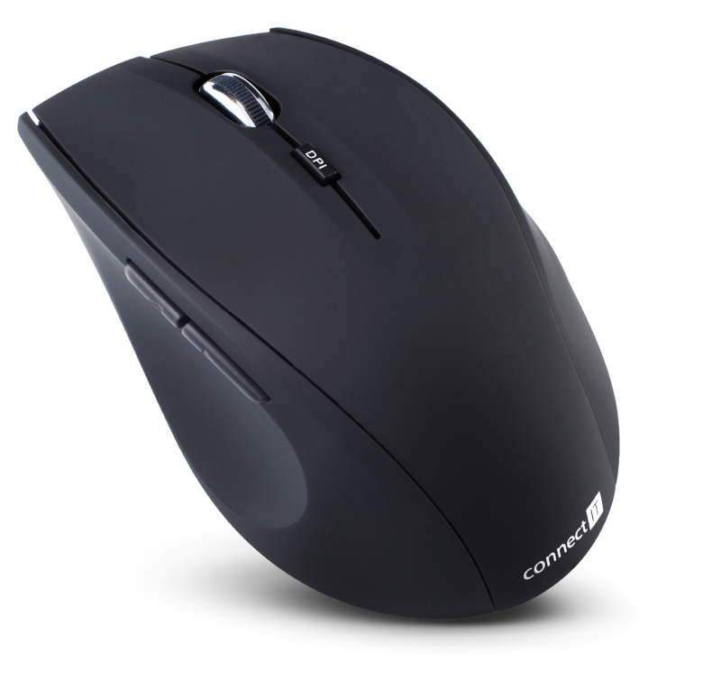 Elegant wireless optical mouse